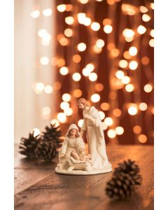 Christmas - Holy Family Nativity Small by Belleek Living