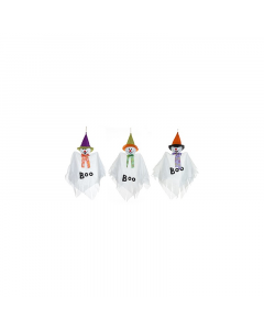 Halloween Hanging Ghosts with Hat