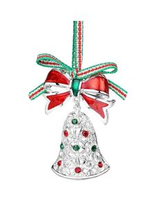 Christmas Bell with Bow decoration