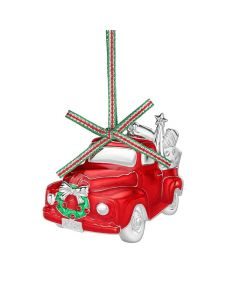 Red Car Christmas Decoration