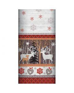 Tablecloth 120cm x 180cm - Woodland Reindeers