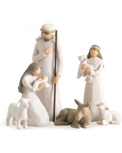 6pce Nativity Set